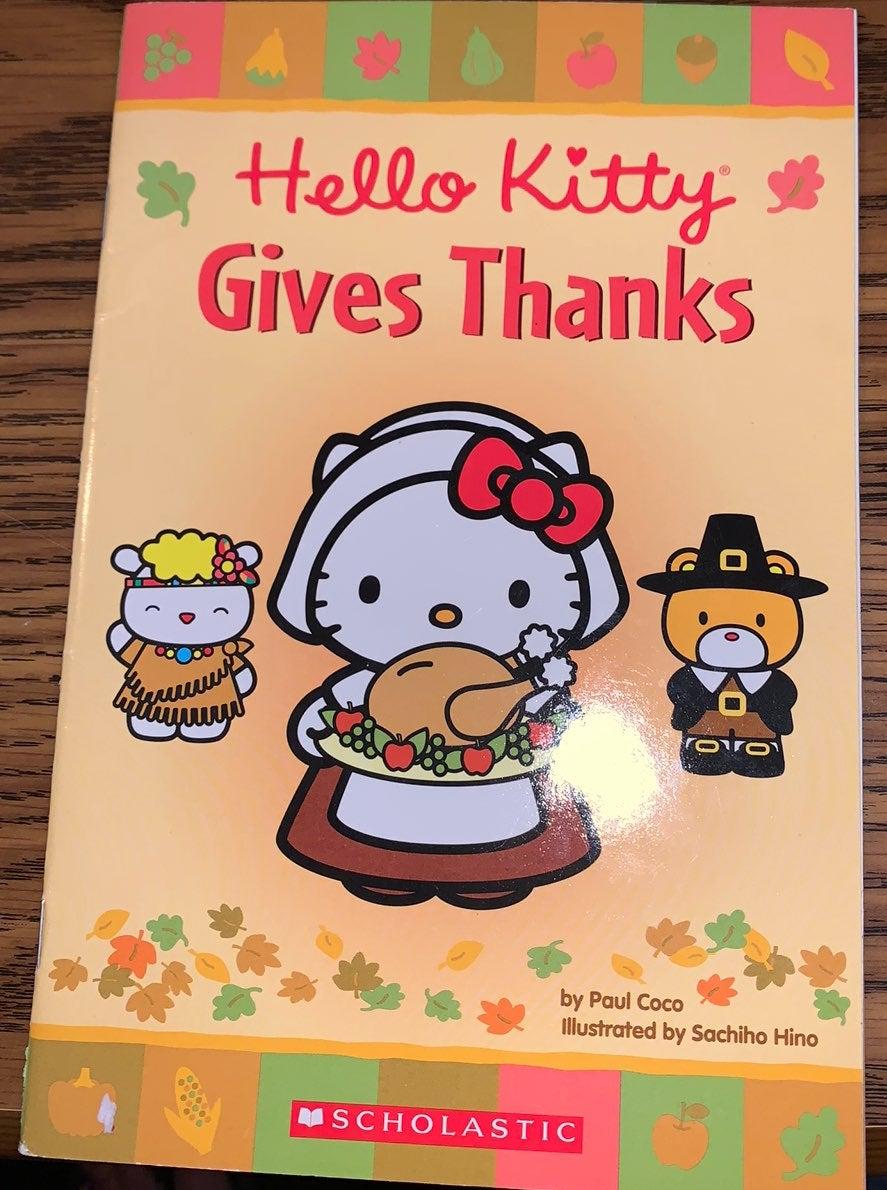 Hello Kitty Gives Thanks beginner reader