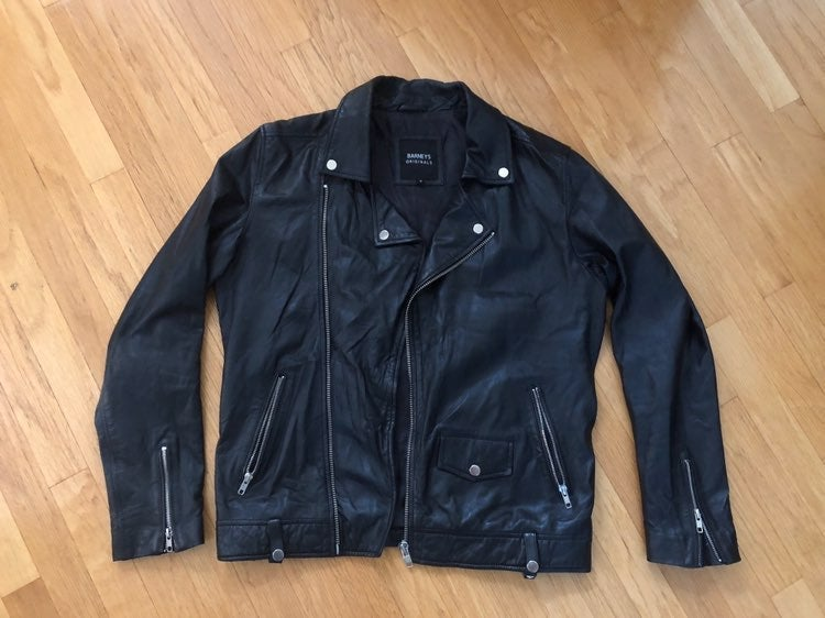 Men's Barneys Leather Jacket