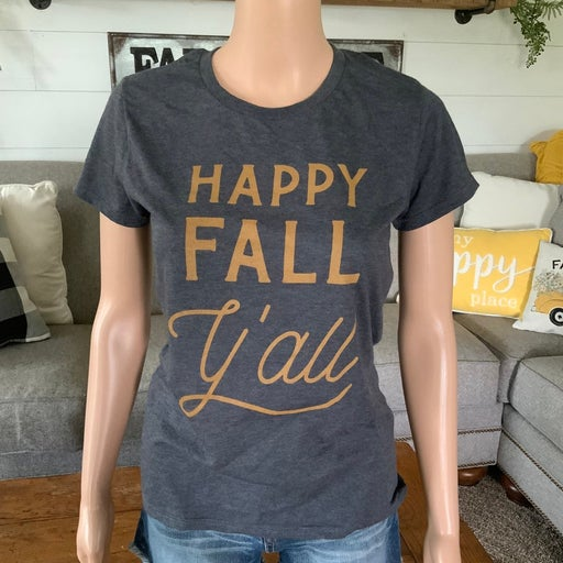 Anvil Fall Graphic tee. Small