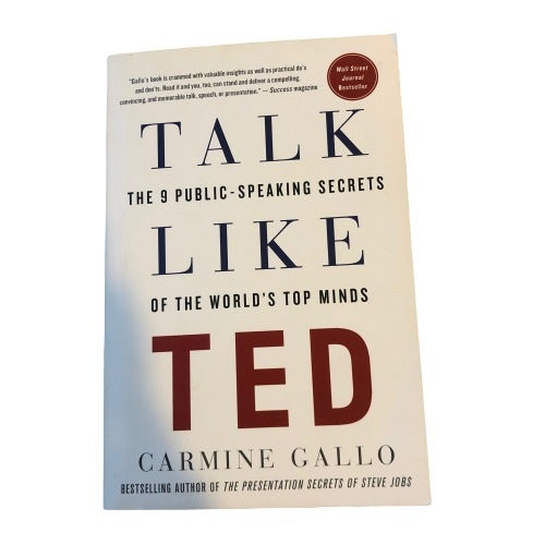 Talk Like TED by Carmine Gallo Book