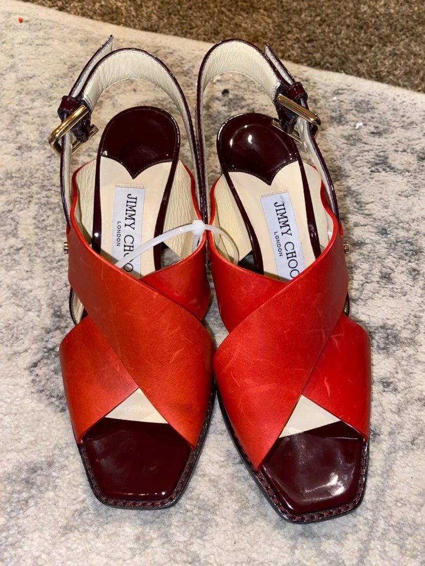 Jimmy Choo Aix 65 Sandals