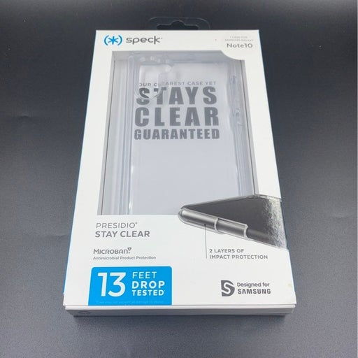 Speck Samsung Note 10 Clear Cover Case