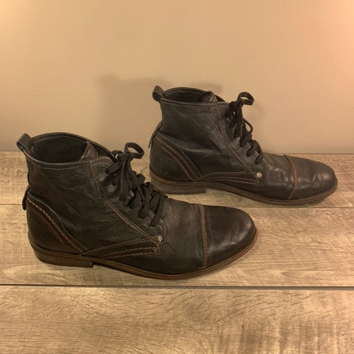 Firetrap Men's Ankle Leather Boots 10