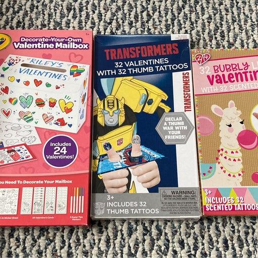 Crayola Valentine cards bundle