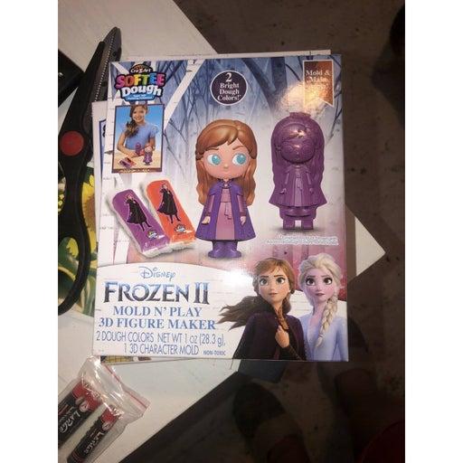 ❄️Disney Frozen 3D Figure Maker Clay Mold N Play Anna *Buy 4 Items Get 1 Free!❄️