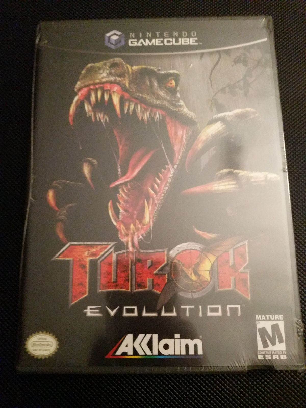 Brand New!! Gamecube Game Turok Evolutio