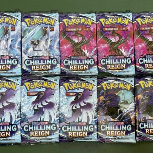 2x Chilling Reign booster packs!