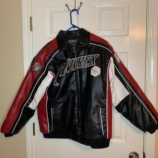 AVIREX Vintage Leather Bomber Jacket