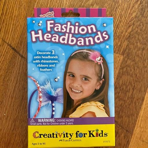 New headband crafting kit