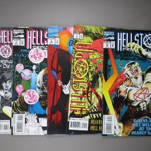 5 Hellstorm 'Prince of Lies' Comics #6 thru #10