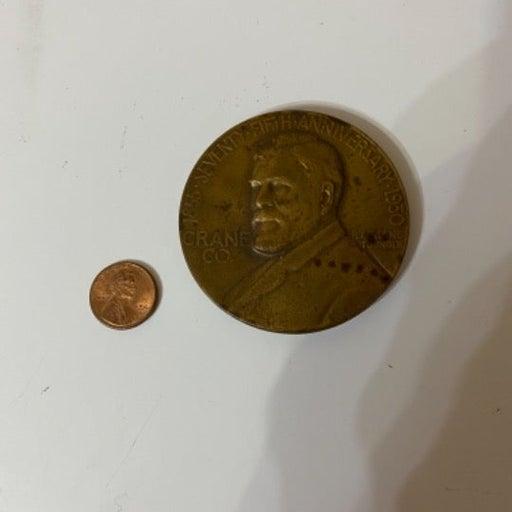 1930 Crane Co. 75th Anniversary Coin