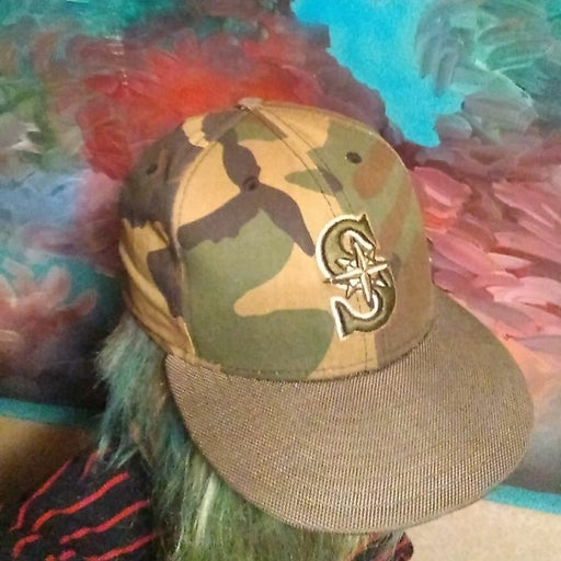Seattle Mariners fitted baseball cap7.25