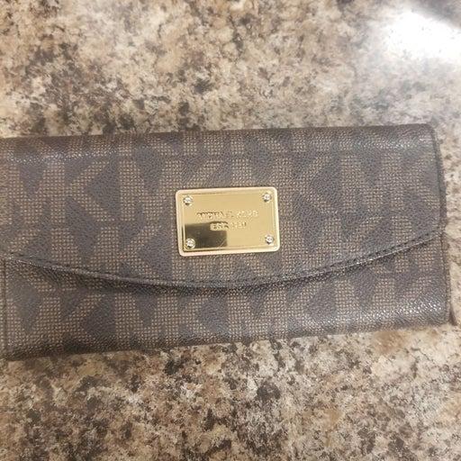 Michael Kors Wallet vanilla trifold