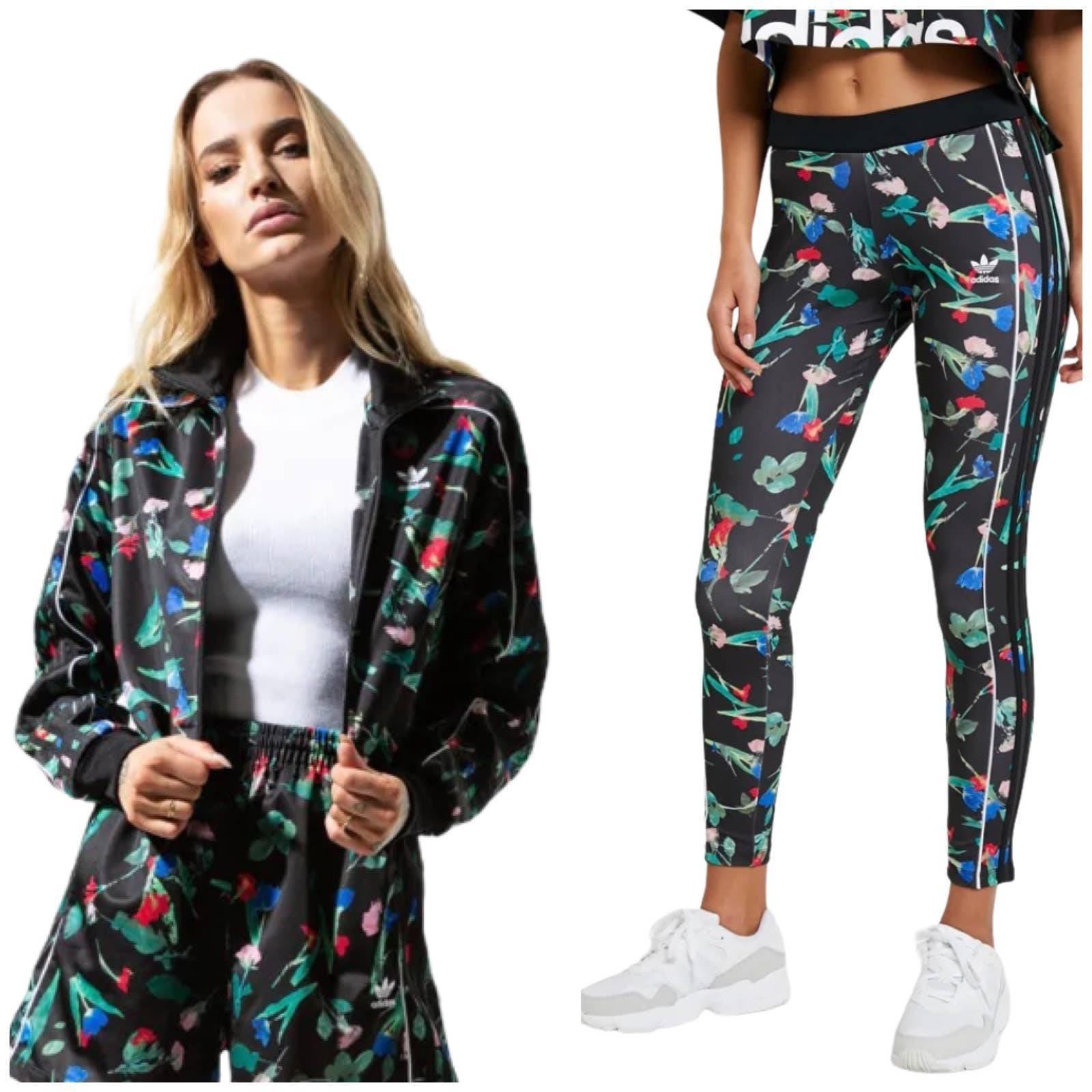 Adidas Floral Active Tracksuits & Sweats   Mercari