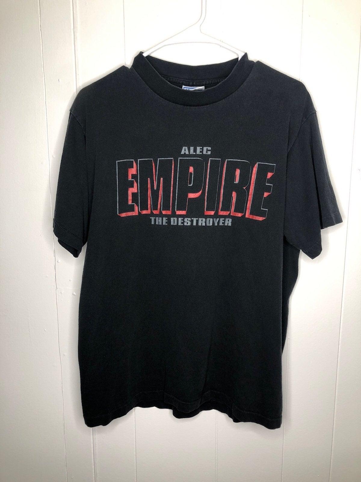 Vintage Alec Empire the destroyer Shirt