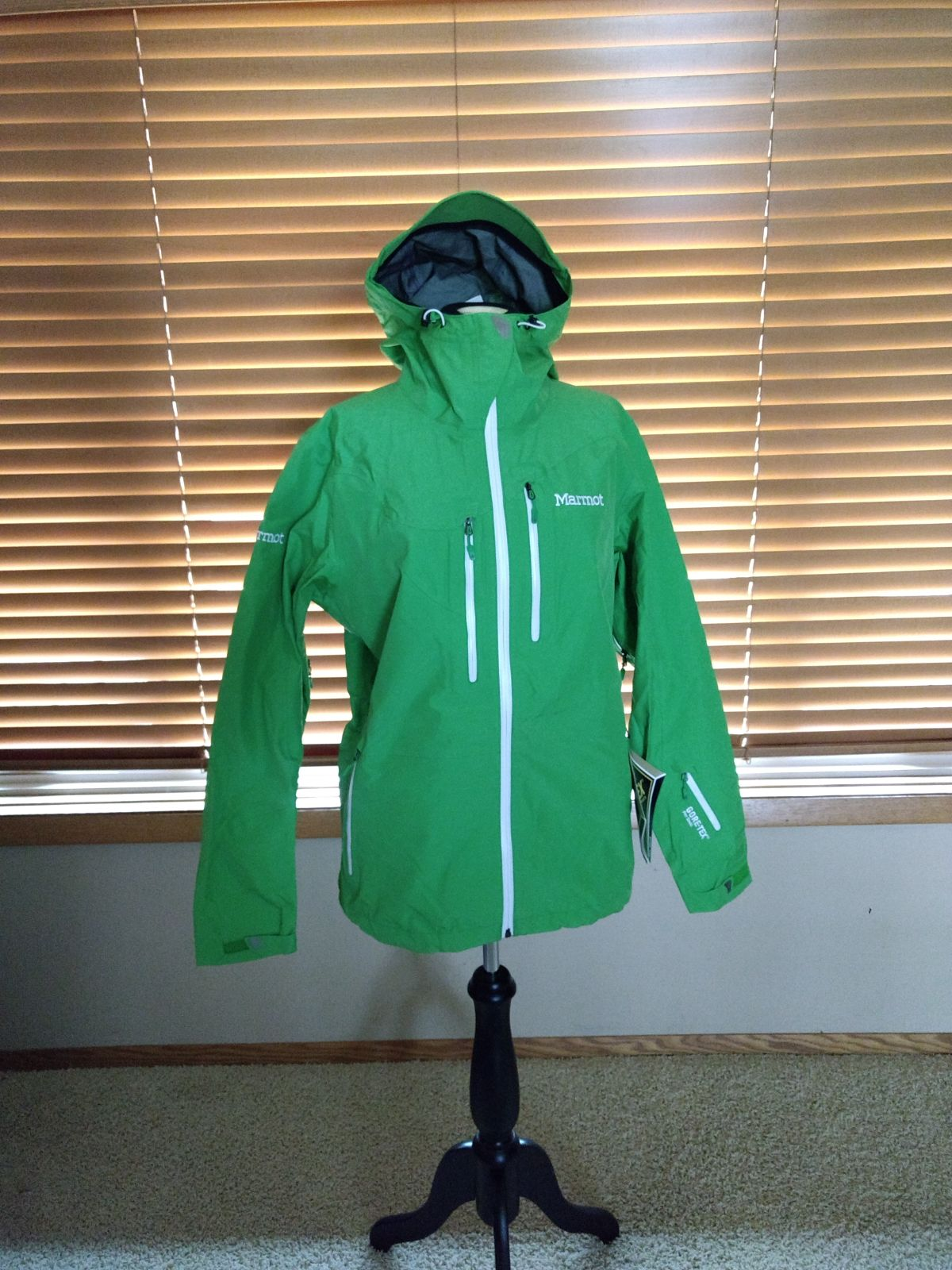 Gortex Waterproof Green Alpinist Jacket