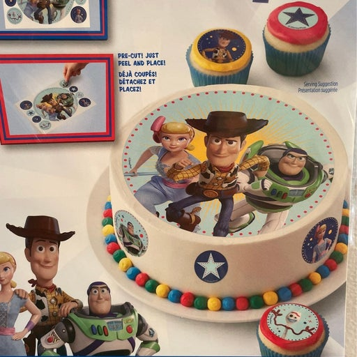 2 Wilton Disney Toy Story Edible Sugar