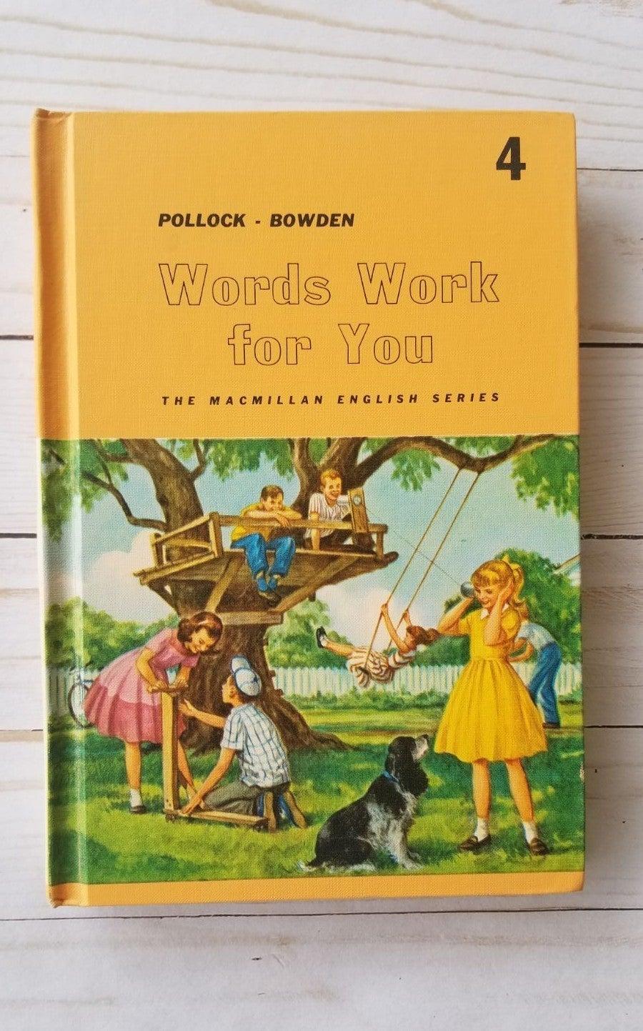 60s hardback childrens English book