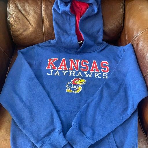 Youth Kansas Jayhawk hoodie