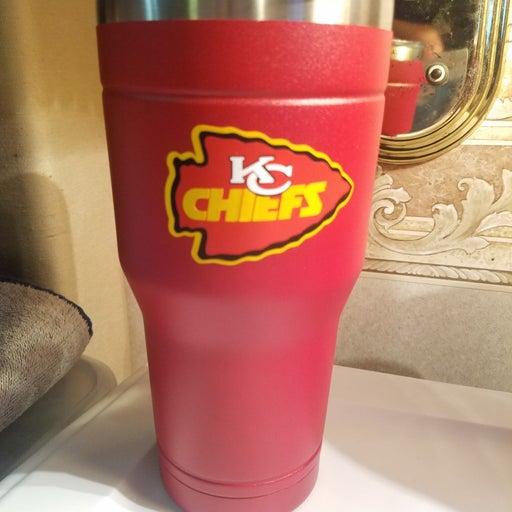 Kansas city KC chiefs Travel cup