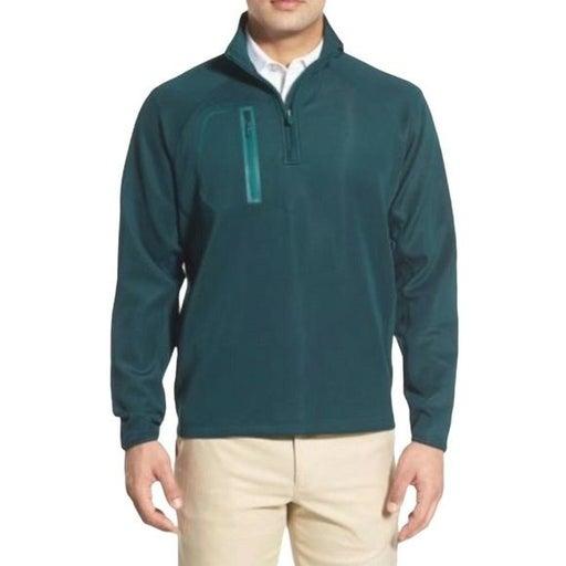 Bobby Jones Performance Golf Quarter Zip Pullover Green Mens Size 2XL