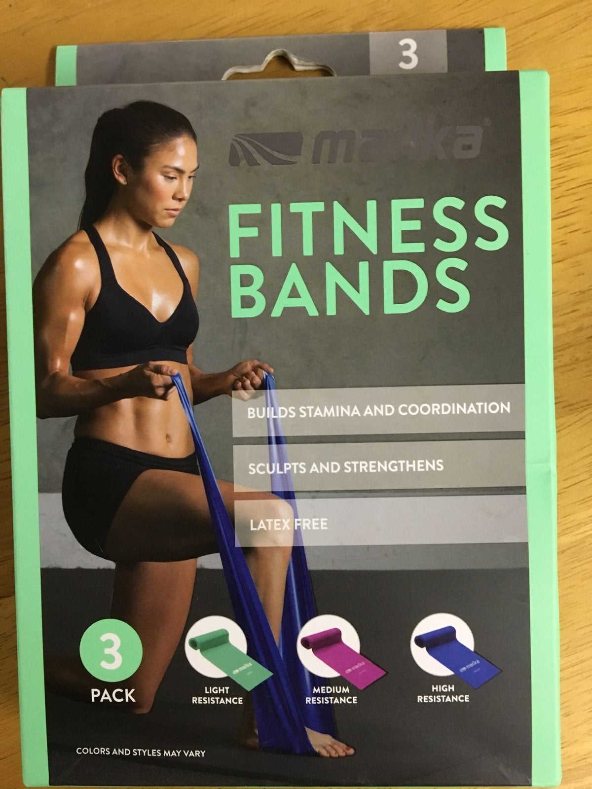 Fitness Bands 3-pack Resistance