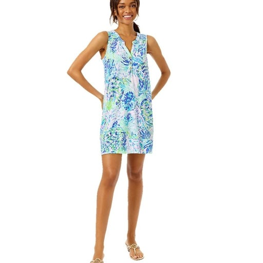 Lilly Pulitzer Essie Dress Shell Party L
