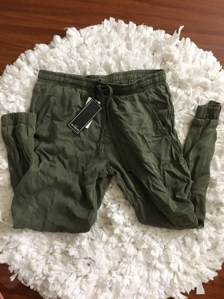 Khaki Olive Trousers