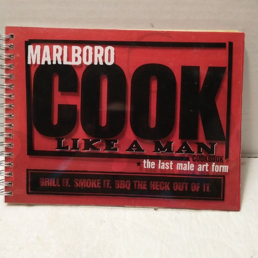 MARLBORO COOK LIKE A MAN COOKBOOK