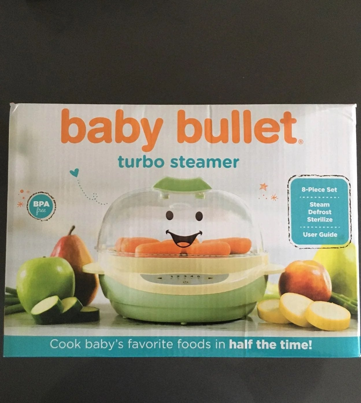 Baby Bullet Turbo Steamer