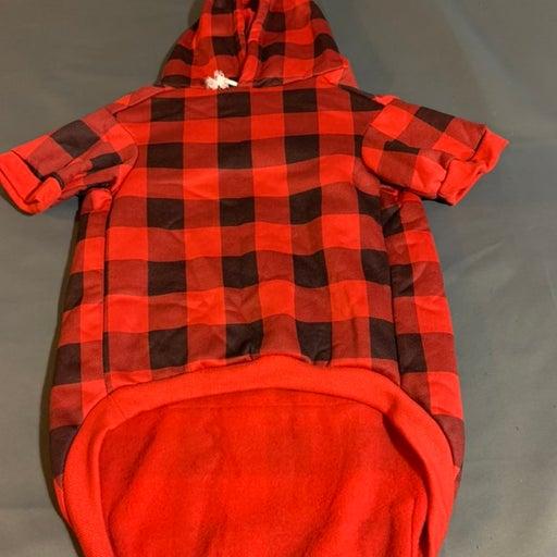 Kooltail Dog Hoddie XL  Black and Red