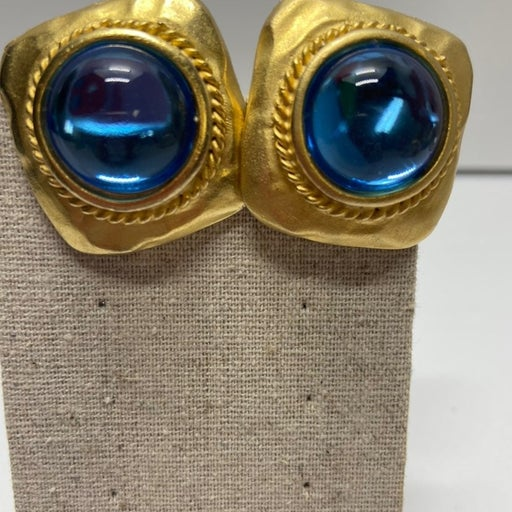 Vintage Craft Co. Gold clip on Earrings