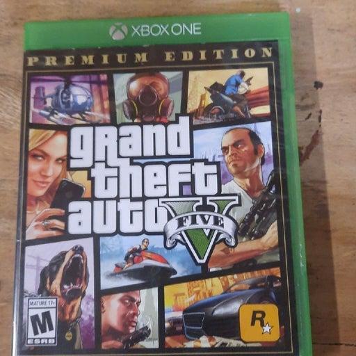 Grand Theft Auto 5 Xbox One Premium Edit