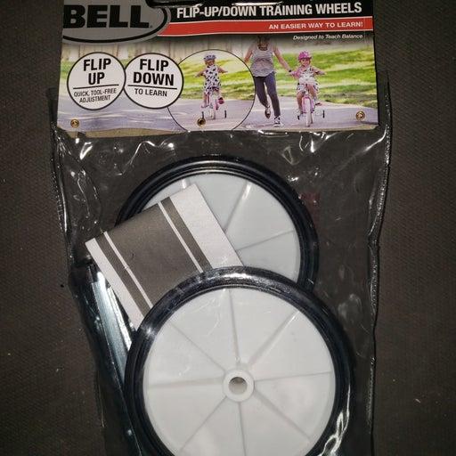 Bell flip down training wheels