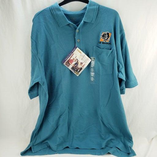 Men's Cabela's Polo Top Blue New XLarge