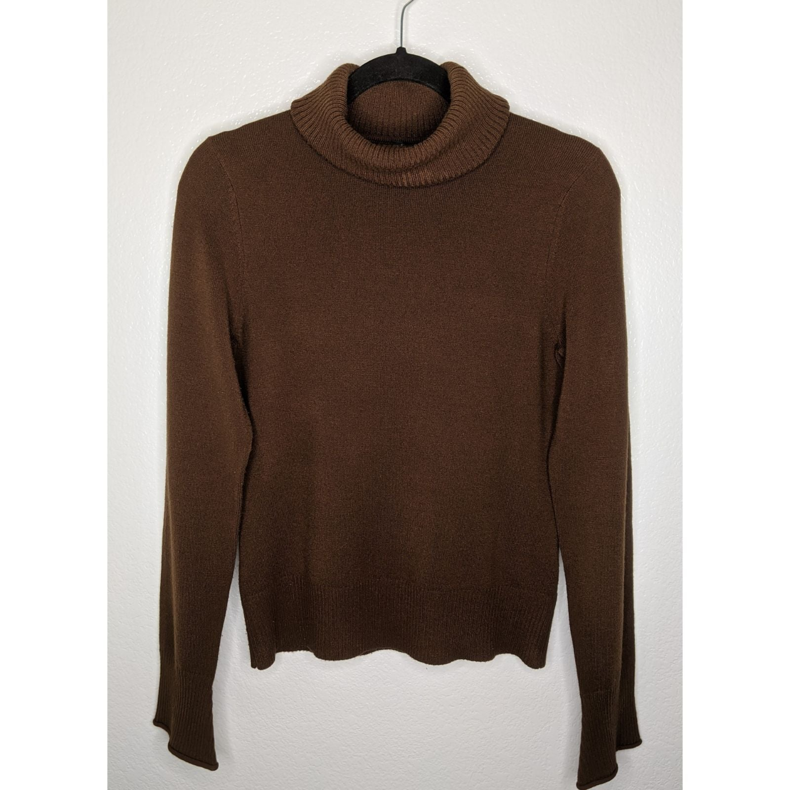 Brown Sweater Turtleneck