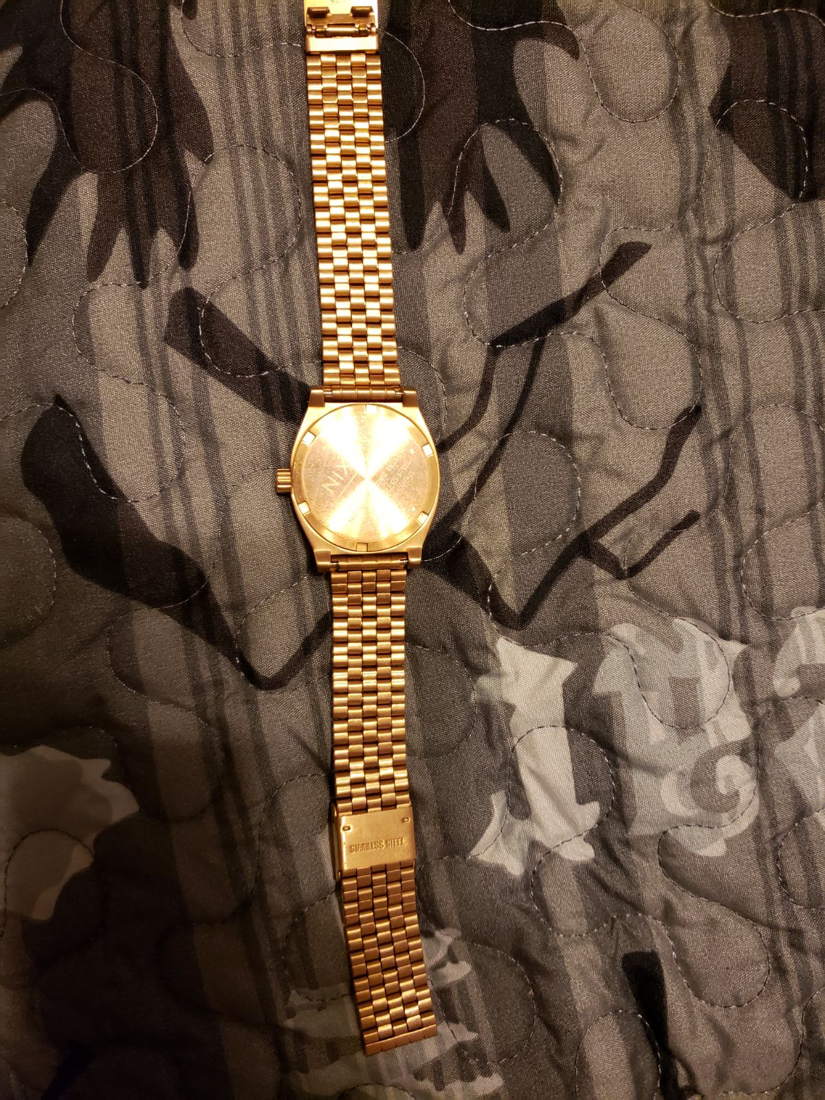 Nixon watch woman's rose gold