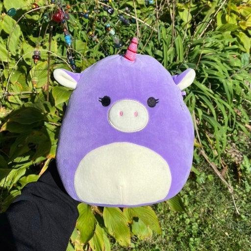 ✨ Astrid The Purple Unicorn Squishmallow • 8 Inch ✨