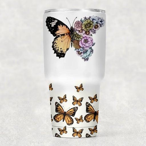 30oz Butterfly Tumbler