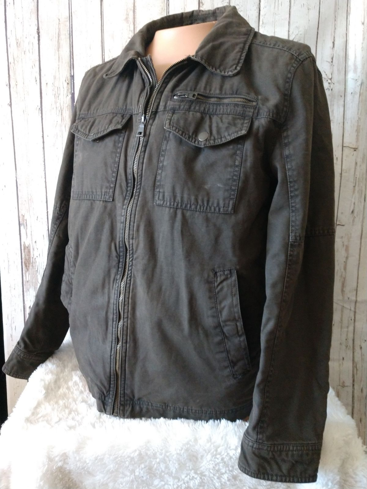 G.H. Bass & Co. Insulated canvas Jacket