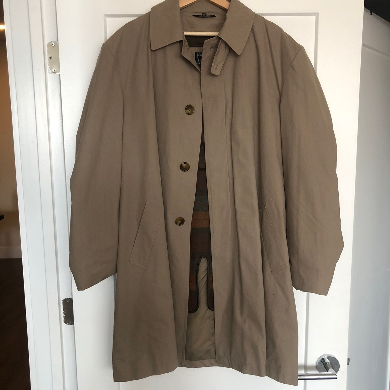 Jos A. Bank Trench Coat