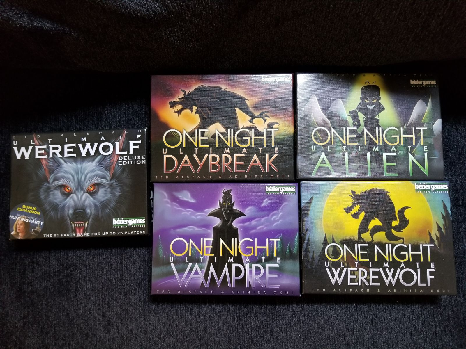 One Night Werewolf Bundle