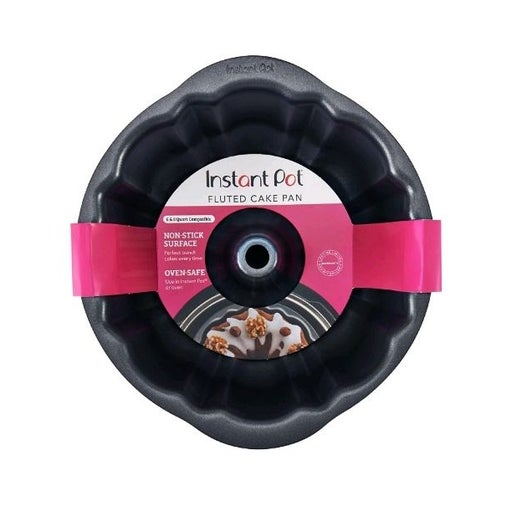 Instant Pot Fluted Cake Pan 7-Inch Non-S