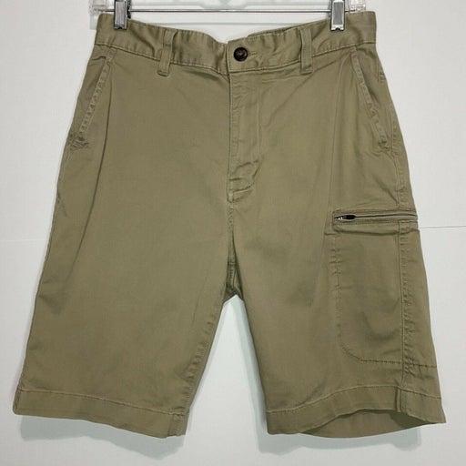 Cremieux Men's Sz 30 Khaki Shorts Cargo