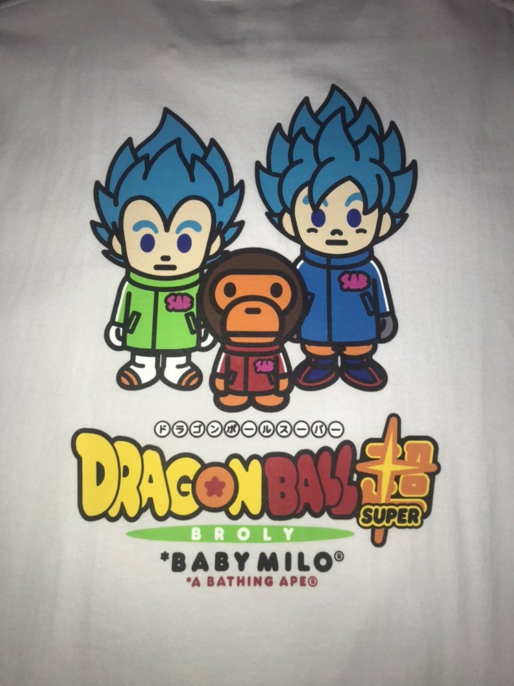 Bape Dragon Ball Super Son Goku & Vegeta