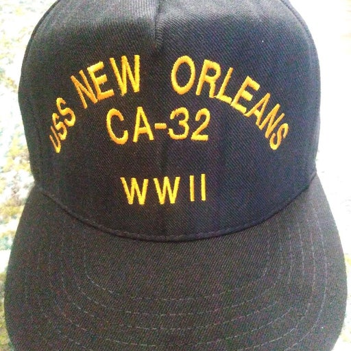 USS NEW ORLEANS. CA-32 WWII