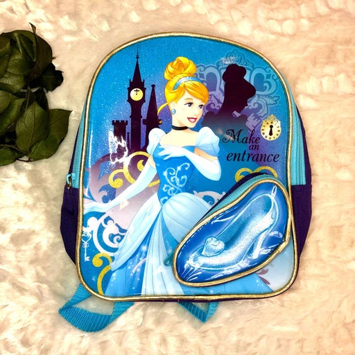 Disney Cinderella Blue Kids Backpack