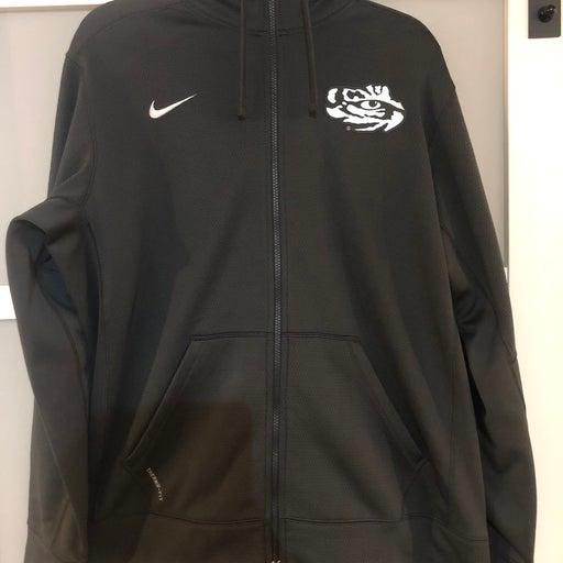 LSU size large Nike jacket