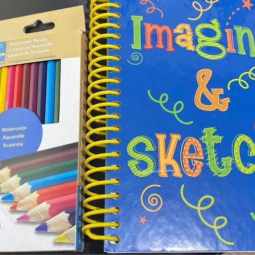 Journal & Pencils