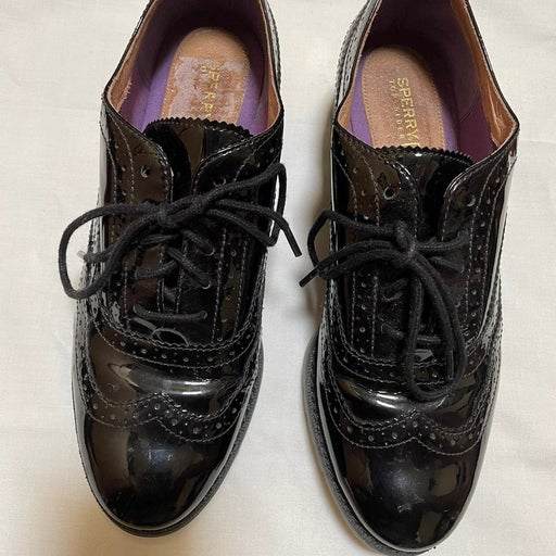 Sperry Top Sider Wingtip Lace Up Oxford Womens Shoes